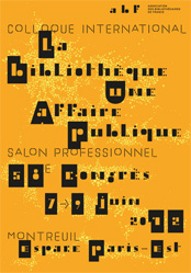 Affiche du congrès 2012