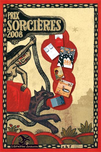 Affiche prix Sorcières 2008