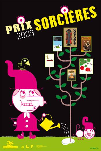 Affiche prix sorcières 2009