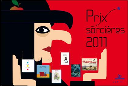 Affiche prix sorcières 2011