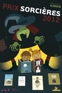 Affiche du prix Sorcières 2012